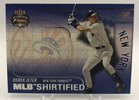 Derek Jeter 2003 Fleer Focus Jersey Edition MLB SHIRTFIELD #10 New York Yankees