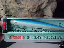 Rapala Orginal Floating F18 B in Color BLUE/SILVER for Bass/Walleye/Pike/Salmon