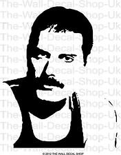 FREDDIE MERCURY PORTRAIT - WALL ART DECAL STICKER