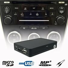 Car Kit Stereo USB SD AUX MP3 WMA Player CD Changer Adapter For Mazda 3 5 6 MPV