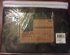 Camo Hunting Army King Sheet Set Sateen Cotton 200 Tc 4 Pc. $120.00 USA SELLER