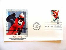 """January 6th, 1984 """"Alpine Skiing"""" 1st Day Cover"""