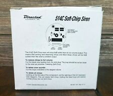 Directed Electronics 514C Soft-Chirp Siren Alarm Horn Clifford New Open Box