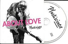 CD CARTONNE CARDSLEEVE COLLECTOR PLASTISCINES ABOUT LOVE 12 TITRES