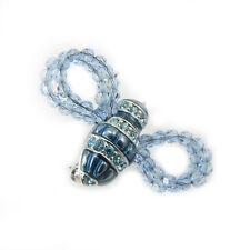 Swarovski jewelry spilla donna ape insetto azzurra  blu bee pin 7841918