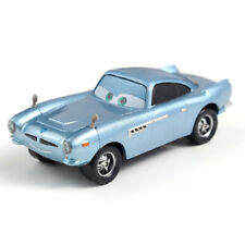 Mattel Disney Pixar Cars Finn McMissile 1:55 Die-Cast Vehicles Model Toys Loose