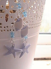 starfish earrings set shell blessed atlantis hand made rare turtle island
