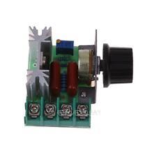 Adjustable 2000W AC 50-220V 25A Motor Speed Controller Voltage Regulator PWM