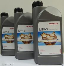 Genuine Honda MTF-3 Manual Gearbox Oil,Civic,Accord, CRV, S2000,Integra, Jazz