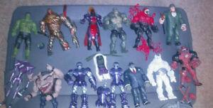 Marvel Legends BAF Lot of 13 figures + extra pieces Mr.Hyde Venompool Toxin HULK