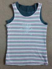 Girls' Sleeveless Striped T-Shirts, Tops & Shirts (2-16 Years)