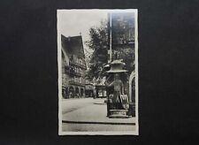 AK Postkarte Nordhausen Roland am Rathaus ungelaufen