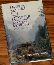 Book One The Cove The Legend of Lovada Branch SIGNED by PAUL & KAREN FREDETTE HC
