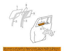 Toyota Oem 01-07 Highlander Glass-Rear Door-Sash Channel 6990548020