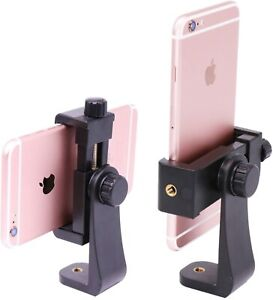 Ulanzi Phone Tripod Adapter Mount, Adjustable Cell Holder, black