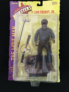 Wolfman Action Figure Lon Chaney Jr Sideshow Toys Universal Monsters 1998