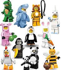 LEGO Animal Suit Minifigures Gorilla+Lizard+Bunny+Chicken+Bee+Panda+Piggy+MORE
