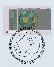BRD 2008: Himmelsscheibe von Nebra Nr 2695! Bonner Ersttagssonderstempel 1A 1704