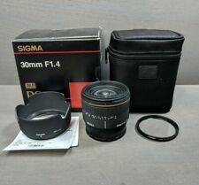 SIGMA 30mm 1:1.4 EX DC D for SONY A mount camera
