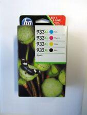Original HP Tintenpatronen 932XL 933XL 933 XL Schwarz/Cyan/Magenta/Gelb 4er-Pack