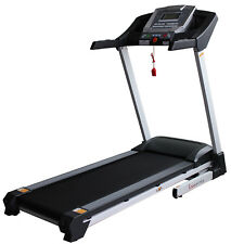 Sunny Health & Fitness Auto Inclining Cardio Exercise Smart Treadmill NEW