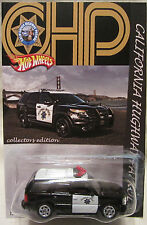Hot Wheels CUSTOM 2001 GMC YUCON DENALI Highway Patrol RR LTD 1/50 Made!