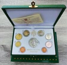 Vatikan Vatican KMS kursmünzensatz Coin Set 2010 PP - Proof