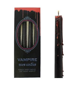 Pagan/Wiccan Vampire Tears Bleeding Candles Pack Of 4