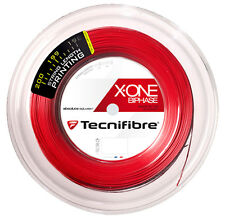 Tecnifibre X-One Biphase 18 (1.18mm) Squash String 200M/660ft Reel - Red