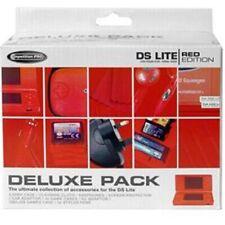 Nintendo DS Lite Deluxe Paquet (Chargeur / Coque / Écouteurs & Plus) Neuf Soldes