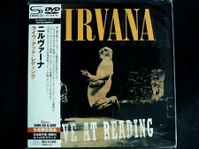 Nirvana - Live At Reading Japan SHM-CD+DVD Mini LP OBI Brand New UICY-94346