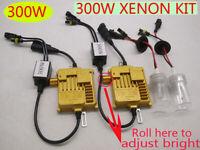 Ajust bright 300W HID Xenon Headlight Kit Car Light Bulbs Lamp H1 H3 H7 H11 9005