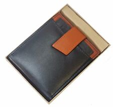 Heavy Duty Wallet Insert Bifold Mens Wallet Removable ID-Card Holder Gift Box
