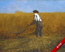 THE HARVEST LDS MORMON MISSIONARY FIELD WORK D&C 4 PAINTING ART CANVAS GICLEE