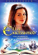 Ella Enchanted NEW DVD Full Screen A Fairy Tale Adventure Buy 2 Items-Get $2 OFF