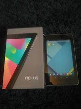 ASUS Google Nexus 7 32GB, 7 inch - Black Touch Screen Tablet ME370T in ex con.