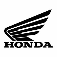 HONDA MOTORSPORT Vinyl Decal Sticker, 6 INCHES WIDE. DIE CUT. BLACK
