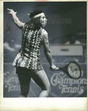 "1979 Press Photo Rosemary ""Rosie"" Casals tennis - DFPC31551"
