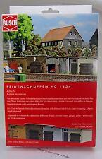 Busch 1454 Bausatz Reihenschuppen HO Scale 1 87 NEU OVP