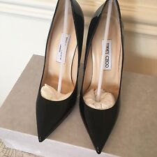 Jimmy Choo Anouk Black Patent Heels Brand New Size 4.5 - small fit, fits size 4