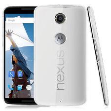 For Motorola Nexus 6 Crystal Clear Hard case Skin DIY cover