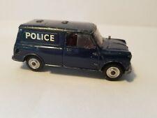 Corgi Toys Diecast Austin Police Mini Van Policeman  Vintage Great Britain Toy