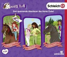SCHLEICH-HORSE CLUB HÖRSPIELBOX 1:GEHEIMNISVOLLE TRUHE,SCHATTEN...  3 CD NEU