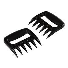 Pair of Pulled Pork Claws Shedder Beef Chicken Bear Meat Forks BBQ Mesher Turkey