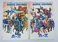 Official Handbook Marvel Universe Volume 1 & 2 Marvel TPB New Trade Paperback