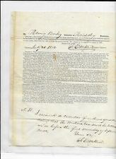 Early Pre-Civil War Schaefferstown, Lebanon County, PA Militia Document RARE