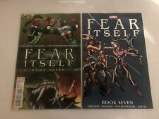 Fear Itself 7 Cover A & 1:10 VARIANT CAP uses THOR's HAMMER Endgame CGC CBCS It!