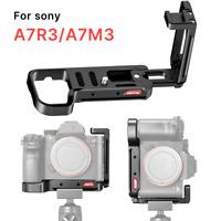 R065 A7III L Plate Bracket Camera Holder for Sony A7R3 A7M3 Camera Tripod Black
