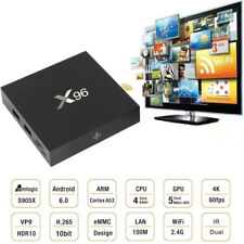 X96 4K Android Streaming TV BOX S905X 64-bit Quad Core 1G /8G 6.0 Android