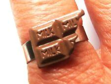 Miniture *Chocolate Bar* adjustable ring